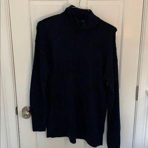 Gap Navy blue tunic style sweater